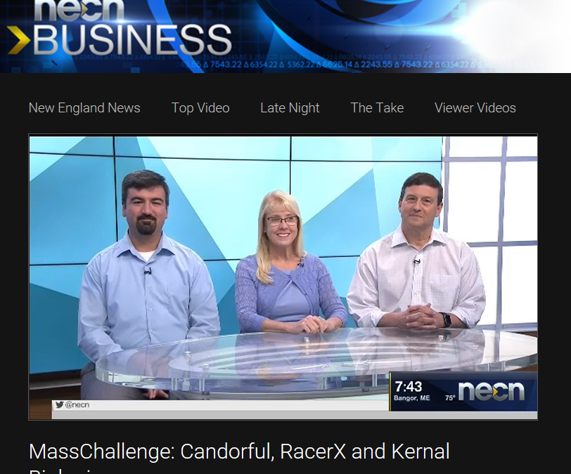 Candorful Gets the Word Out – NECN – Job Interview Practice for Veterans