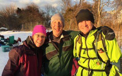 Charlie Tillett Slays 32 Mile Trail Run Through Snow to Benefit Candorful